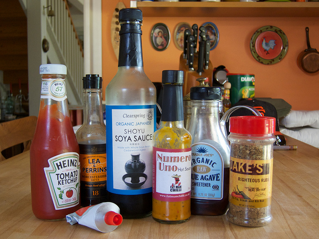 BBQ Sauce Ingredients