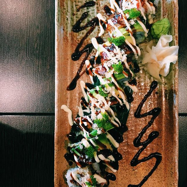 Dragon R #sushi