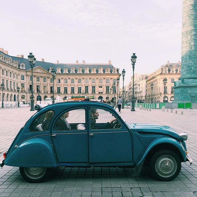 Quintessential #2cv #paris