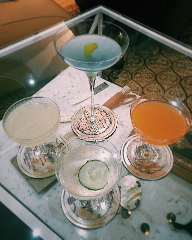 Cocktail heaven with @ragegirrl