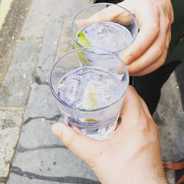 Cheers #friday #ginandtonic