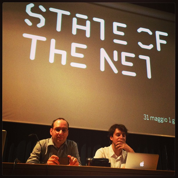 Almost ready for the official @stateofthenet launch #sotn13
