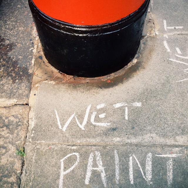 Wet paint #vscocam