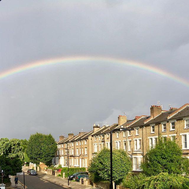 Rainbow on the Grove