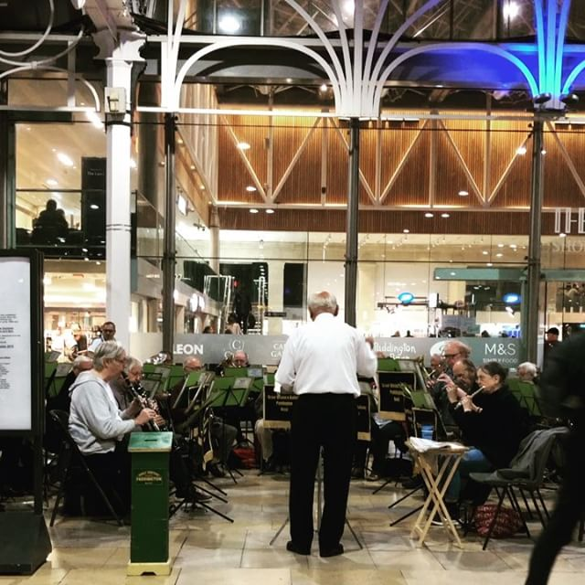 The Great Western Railway Paddington Station Military Band